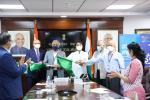 Inauguration of Flights from Gwalior to Indore, Gwalior to Delhi, Delhi to Gwalior, Indore to Gwalior & Indore to Dubai, Dubai to Indore
