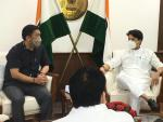 Meeting with CM Pema Khandu