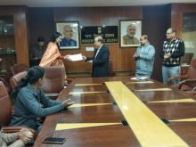 Certificate Distribution for Vigilance Awareness Week-2019 8
